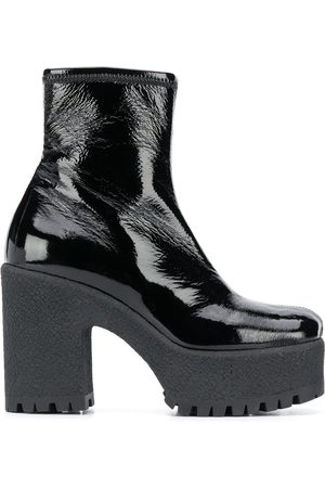 Miu Miu Naiset Nilkkurit - Side-zip 80mm ankle boots