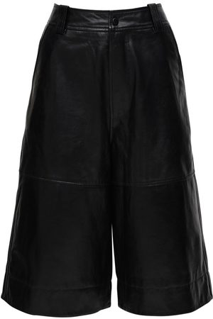 Ganni Leather Culottes
