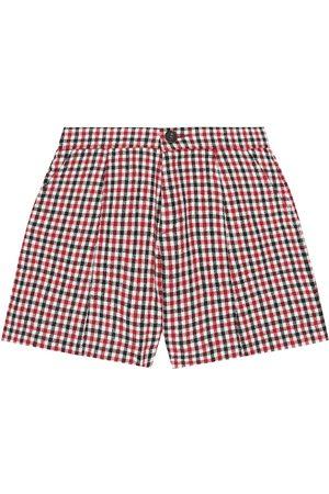 Chloé Tytöt Shortsit - Checked shorts
