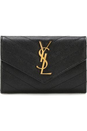 Saint Laurent Naiset Lompakot - Monogram Small leather wallet