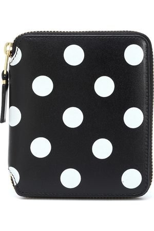 Comme des Garçons Naiset Lompakot - Dots Medium leather wallet