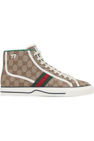 Gucci Gg Mignon Canvas Tennis 1977 Sneakers