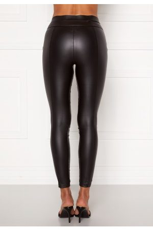 Ax Paris Matt Faux Pu Leggings Black M (UK12)