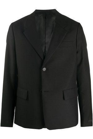 Prada Miehet Bleiserit - Single-breasted long-sleeve blazer