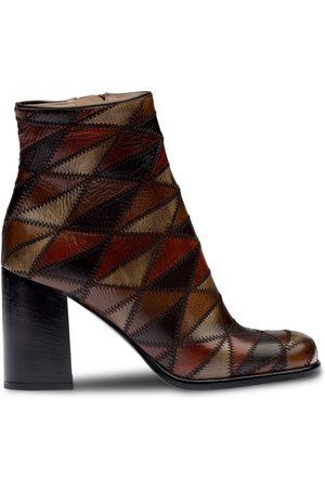 Miu Miu Geometric pattern ankle boots