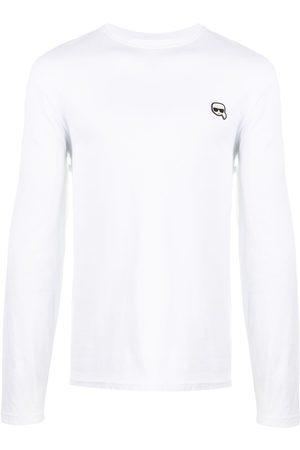 Karl Lagerfeld Ikonik patch cotton T-shirt