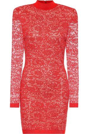 Balmain Lace bodycon minidress