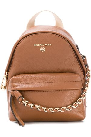 Michael Kors Chain detail leather backpack