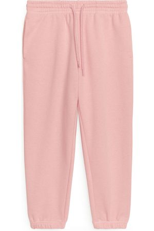 ARKET Collegehousut - French Terry Sweatpants - Pink