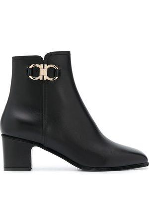 Salvatore Ferragamo Leather ankle boots