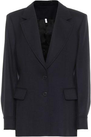 Chloé Virgin wool flannel blazer