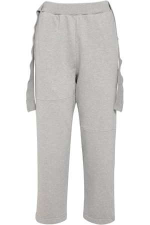 MM6 MAISON MARGIELA Cotton Sweatpants W/ Straps