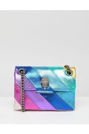 Kurt Geiger Naiset Käsilaukut - Kensington mini bag in rainbow leather-Multi