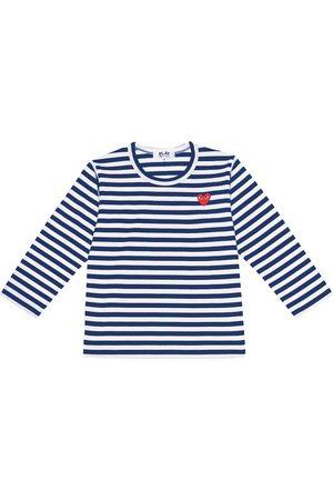 Comme de Garçons Play Kids Striped cotton jersey T-shirt