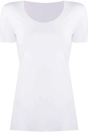 Wolford Naiset T-paidat - Aurora short-sleeve T-shirt