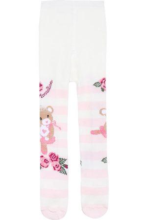 MONNALISA Vauvat Sukkahousut - Baby printed tights