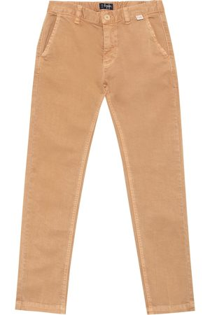 Il gufo Stretch-cotton slim pants