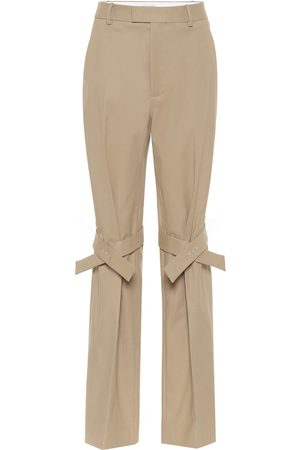 Bottega Veneta Naiset Stretch - High-rise stretch cotton pants