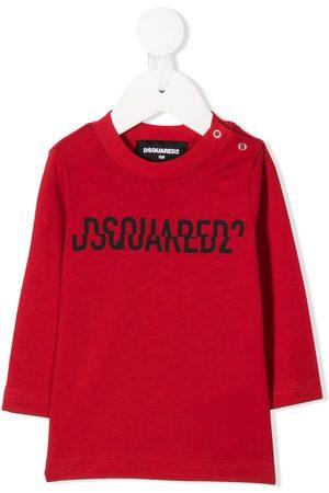 Dsquared2 Collegepaidat - Split logo-print sweatshirt