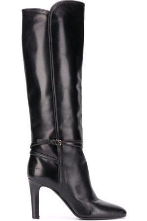 Saint Laurent Naiset Ylipolvensaappaat - Jane 90 knee-length boots
