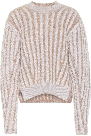 Chloé Cable knit wool and mohair-blend sweater