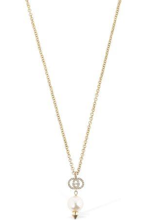 Gucci Naiset Kaulakorut - Gg Imitation Pearl Long Necklace