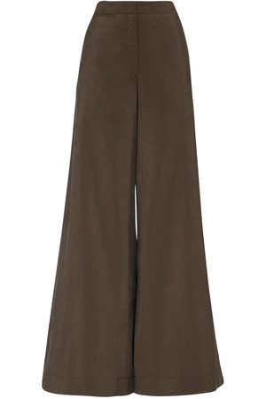 LEMAIRE Silk Blend Wide Leg Pants