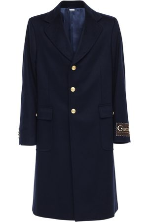 Gucci Label Eco Cashmere Wool Coat