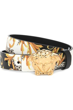 VERSACE Medusa leather belt