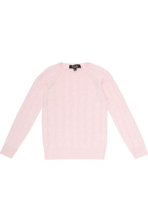 Loro Piana Downy Cables cashmere sweater