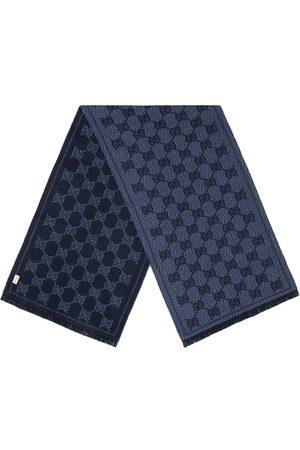 Gucci GG pattern jacquard scarf