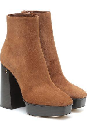 Jimmy Choo Bryn 125 suede platform boots