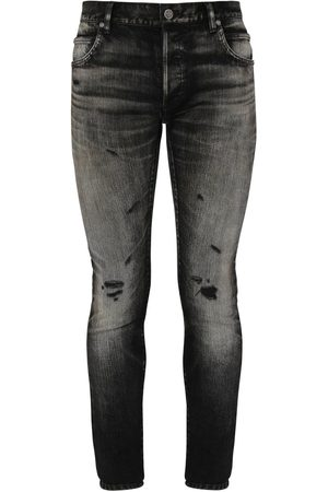 Balmain Selvedge Skinny Cotton Denim Jeans