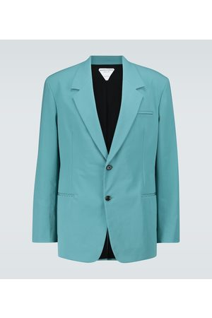 Bottega Veneta Tailored technical fabric blazer