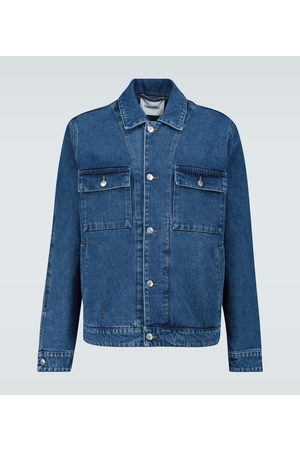 Nanushka Boxy-fit denim jacket