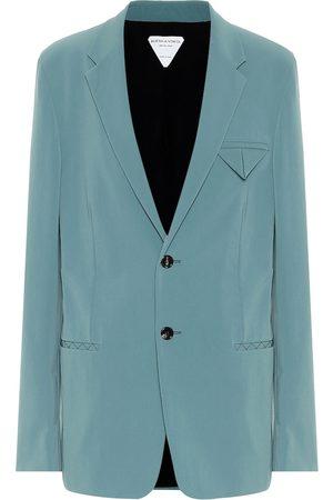 Bottega Veneta Stretch-nylon canvas blazer