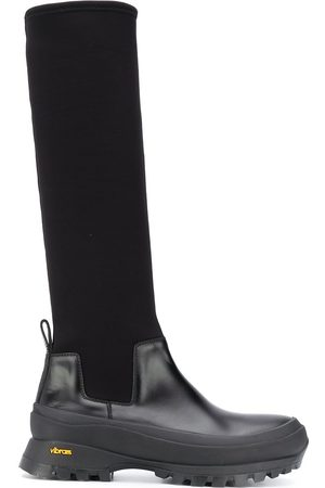 Jil Sander Panelled knee-high boots