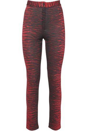 Kenzo Printed Stretch Jersey Leggings