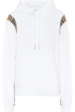 Burberry Vintage Check cotton jersey hoodie