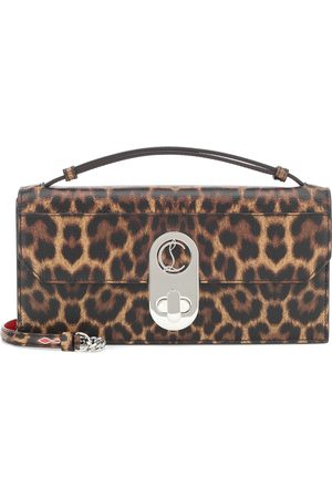 Christian Louboutin Elisa Baguette leather shoulder bag
