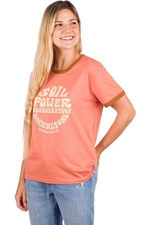 Patagonia Naiset T-paidat - Road To Regenerative Ringer T-Shirt