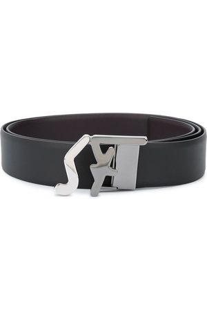 Salvatore Ferragamo Miehet Vyöt - Logo buckle belt