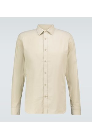 Orlebar Brown Giles corduroy long-sleeved shirt