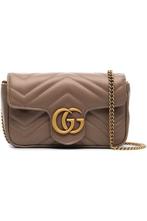 Gucci Neutral GG Marmont super mini bag