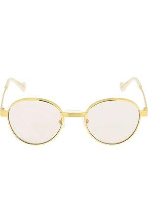 Gucci Gg0872s Round Metal Sunglasses