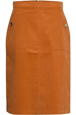 Saint Tropez Cordiesz Skirt Polvipituinen Hame