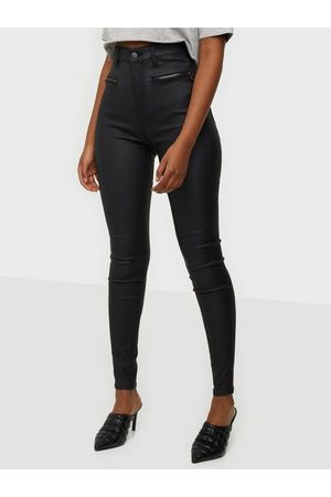 NLY Trend Coated Zip Pants
