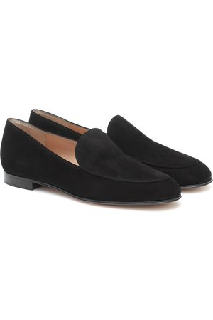 Gianvito Rossi Naiset Loaferit - Marcel suede loafers