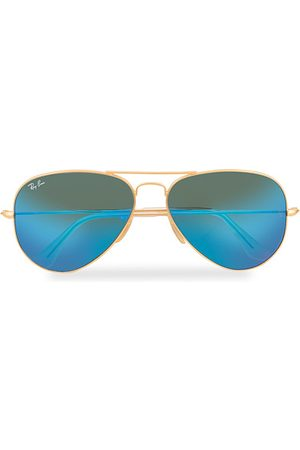 Ray-Ban Miehet Aurinkolasit - 0RB3025 Sunglasses Mirror Blue