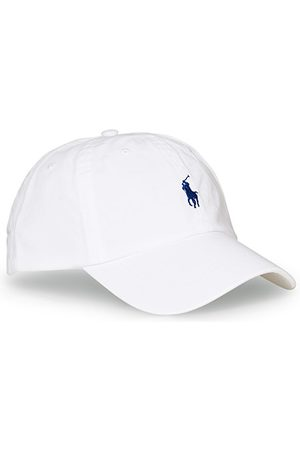 Polo Ralph Lauren Miehet Lippikset - Classic Sports Cap White